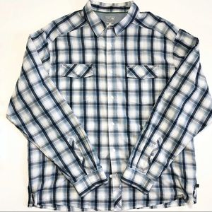 Mountain Hardwear Long Sleeve Plaid Shirt size XL